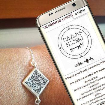 Les bijoux de protection zodicale QR code